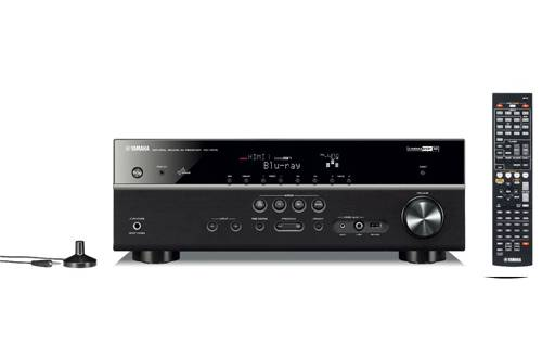 av receiver yamaha rx v475 im test beamer test. Black Bedroom Furniture Sets. Home Design Ideas